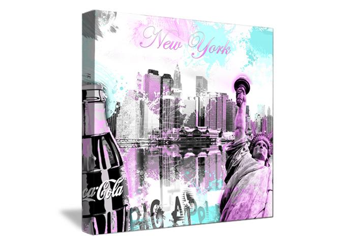 Tableau wild coca de new york monpopart - Tableau de new york ...
