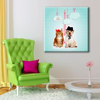 Tableau love pets monpopart for Tableau decoration com