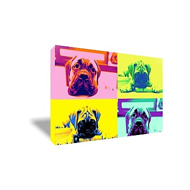 Tableau pop art animaux free pop art face tableau - Tableau pop art animaux ...
