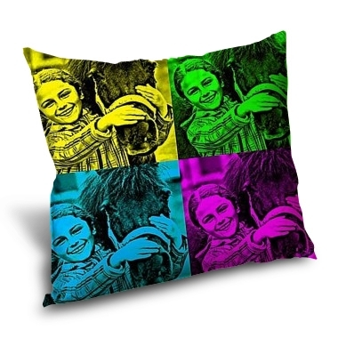 coussin personnalis coussin photo 45x45cm monpopart. Black Bedroom Furniture Sets. Home Design Ideas