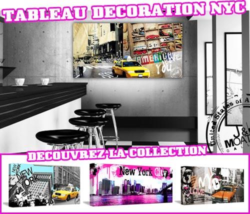 Tableau décoration branché New York